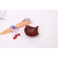 陶瓷银杏叶 首饰收纳盘 下午茶点心盘 创意餐盘