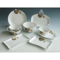 秋草密胺汤碗 面碗 味千拉面碗 日式仿瓷酒店餐具 大碗
