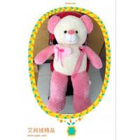 少女红色公仔熊Lady绒公仔玩具礼物