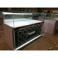 临沂钛合金展示柜玻璃展示柜台珠宝研究首饰矮柜台手机柜台货架