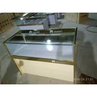钛合金展示柜玻璃展示柜台珠宝研究矮柜台手机柜台货架