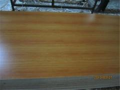 刨花板16mm E2普通板三聚氰胺饰面颗粒板 浮雕装饰生态板
