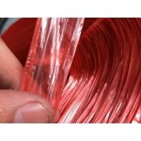塑料捆扎绳 彩色撕裂带 红黄蓝绿彩色撕裂膜批发