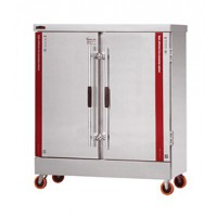 厨房设备不锈钢电热蒸饭车 双门双控电蒸饭柜 蒸饭车 蒸饭箱