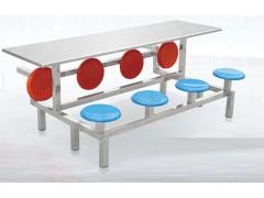 生产厂家 学生食堂餐桌椅 餐桌组合 连体快餐桌椅直销批发