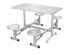厂家直销不锈钢餐桌椅员工餐桌学生餐桌分体餐桌食堂餐桌椅批发
