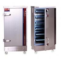 厂家直销电气电热两用蒸饭柜厨房商用 蒸汽柜蒸饭车单双门