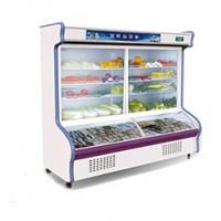 点菜柜商用立式柜厨房展示柜保鲜柜冷藏冷冻双机双温存菜柜