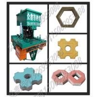 多功能路面花砖机械设备 建筑垃圾水泥彩砖机全自动混凝土垫块机