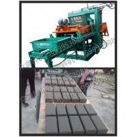 大中小全自动免烧砖设备水泥空心制砖机 液压步道透水面包彩砖机