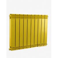 铜铝复合暖气片十大品牌散热器家用水暖壁挂式防熏墙75*75