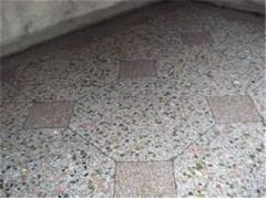 热销厂家水磨石地板砖预制板13954986648