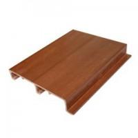 厂家直销木塑实心护墙板 生态木竹木纤维集成pvc护墙板