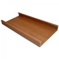 厂家直销 生态木带孔空心墙面  生态木150小圆板
