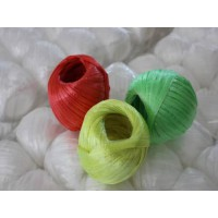 生产高品质PP草球 彩色捆扎绳 超强度捆扎球麻球 缝袋口绳