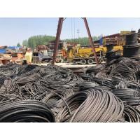 山东回收利用废旧钢丝绳15963900668