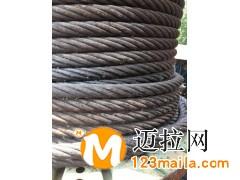 专业新旧钢丝绳回收,库存积压钢丝绳钢丝铝绞线回收