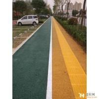 彩色压模地坪,高承载植草地坪直销