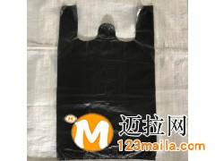 临沂手提式垃圾袋生产厂家,黑色加厚服装市场打包袋蔬菜批发价格