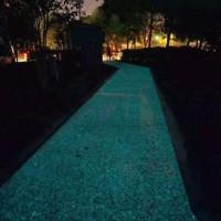 自发光路面,夜光路面,发光路面厂家