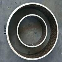 异形模板-山东绿茵-异形桥梁模板-800圆柱模板-弯曲定制